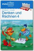 LÜK miniLÜK Buch Denken und Rechnen 4. Klasse ab 9 Jahren 4275