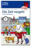 LÜK Buch Die Zeit vergeht Uhrzeit, Kalender ab 7 Jahren 4461