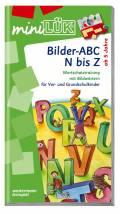 LÜK miniLÜK Buch Bilder-ABC N bis Z ab 5 Jahren 172