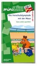 LÜK miniLÜK Buch Die Vorschulolympiade mit der Maus 1 ab 4 Jahren 346