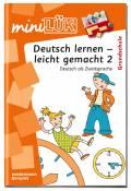 LÜK miniLÜK Buch Deutsch lernen - leicht gemacht 2 ab 6 Jahren 494