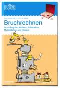 LÜK Buch Bruchrechnen Doppelband ab 10 Jahren 558