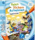 Ravensburger tiptoi Buch Create Malen Stickern Aufnehmen Superhelden 65887