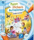 Ravensburger tiptoi Buch Create Malen Stickern Aufnehmen Zauberschule 65889