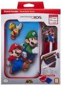 Bigben Nintendo New 3DS XL Tasche Essential Pack Mario und Luigi Case AL105564