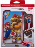 Bigben Nintendo New 3DS XL Tasche Essential Pack Mario Bowser Case AL105564