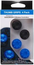 4 Bigben Playstation 4 Schutzkappen Controller Cups 2x blau 2x schwarz AL108367