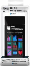 Bigben Bluetooth portabler Lautsprecher BT12 schwarz 9 LED Modi Akku AU348002