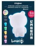 Bigben Bluetooth portabler Lautsprecher Lumin´Us Bear Bär LED Figur USB MP3 AU355987