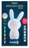 Bigben Bluetooth portabler Lautsprecher Lumin´Us Rabbit Hase LED Figur USB MP3 AU356014