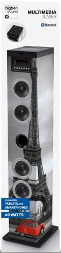 Bigben Bluetooth Lautsprecher System Sound Tower TW12CD Paris AU357660