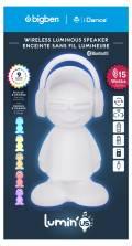 Bigben Bluetooth portabler Outdoor Lautsprecher Lumin´Us Dude LED Figur USB MP3 AU365870