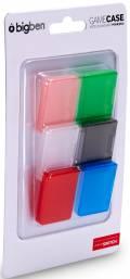 6 Bigben Nintendo Universal Game Organizer Hülle für Switch Spiele farbig BB354973