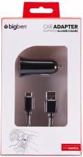 Bigben Nintendo Switch KFZ Ladegerät inkl. Ladekabel schwarz BB355093
