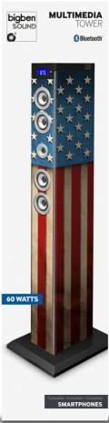 Bigben Bluetooth Lautsprecher System Sound Tower TW9 USA AU342970