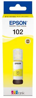 Epson Tintenbehälter Tinte 102 T03R4 Y yellow, gelb