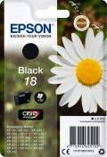 Epson Druckerpatrone Tinte 18 BK black, schwarz