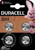 4 Duracell CR 2032 / DL 2032 Lithium Knopfzelle Batterien im 4er Blister