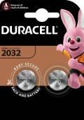 2 Duracell CR 2032 / DL 2032 Lithium Knopfzelle Batterien im 2er Blister