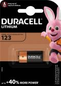 1 Duracell Ultra Photo CR123A / DL123A / CR123 / Lithium Batterie Blister