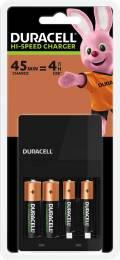 Duracell Akku Ladegerät Charger CEF14 Value Simply 2x AA 1300mAh 2x AAA 750mAh