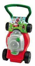 Ecoiffier Outdoor Spielzeug Gartenhelfer Rasenmäher rot, grün 7600000280