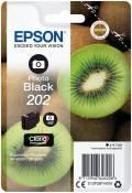 Epson Druckerpatrone Tinte 202 T02F1 PBK photo black, photo schwarz