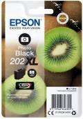 Epson Druckerpatrone Tinte 202 XL T02H1 PBK photo black, photo schwarz