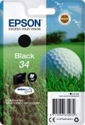 Epson Druckerpatrone Tinte 34 T3461 BK black, schwarz