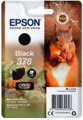 Epson Druckerpatrone Tinte 378 T3781 BK black, schwarz