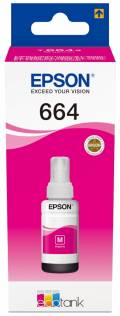 Epson Tintenbehälter Tinte 664 T6643 M magenta, rot