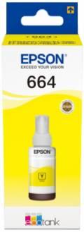 Epson Tintenbehälter Tinte 664 T6644 Y yellow, gelb