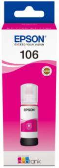 Epson Tintenbehälter Tinte 106 T00R3 M magenta, rot