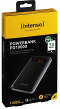Intenso Powerbank mobile Ladestation PD 10000 mAh Typ C 2x USB OUT schwarz