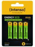 4 Intenso Akku AAA 850mAh Energy Eco Nickel-Metall-Hydrid im 4er Blister