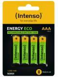 4 Intenso Akku AAA 1000mAh Energy Eco Nickel-Metall-Hydrid im 4er Blister