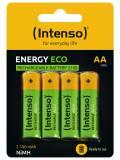 4 Intenso Akku AA 2100mAh Energy Eco Nickel-Metall-Hydrid im 4er Blister