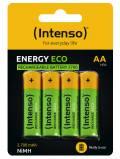 4 Intenso Akku AA 2700mAh Energy Eco Nickel-Metall-Hydrid im 4er Blister