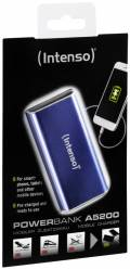 Intenso Powerbank mobile Ladestation Alu 5200 mAh Ladegerät USB OUT blau