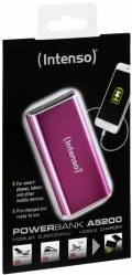 Intenso Powerbank mobile Ladestation Alu 5200 mAh Ladegerät USB OUT pink