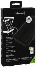 Intenso Powerbank mobile Ladestation HC 15000 mAh Ladegerät USB Typ C 2x USB OUT schwarz