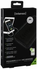 Intenso Powerbank mobile Ladestation HC 20000 mAh Ladegerät USB Typ C 2x USB OUT schwarz