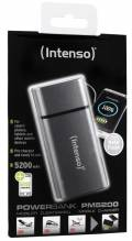 Intenso Powerbank mobile Ladestation PM metal finish 5200 mAh Ladegerät USB OUT grau