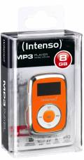 Intenso MP3 Player Music Mover 8GB 1 Zoll Display Clip Funktion orange