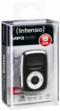 Intenso MP3 Player Music Mover 8GB 1 Zoll Display Clip Funktion schwarz
