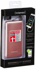 Intenso Powerbank mobile Ladestation Slim S 10000 mAh Ladegerät 2x USB OUT rosé