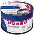 50 Mediarange Rohlinge CD-R printable vinyl black dye 80Min 700MB 52x Spindel