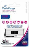 Mediarange USB Stick 8GB Speicherstick silber USB 3.0