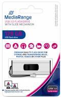Mediarange USB Stick 128GB Speicherstick silber USB 3.0