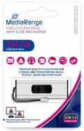 Mediarange USB Stick 256GB Speicherstick silber USB 3.0
